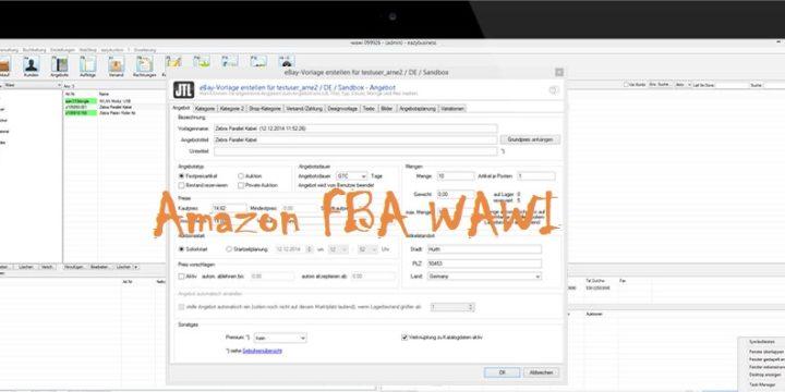 FBA#029 – Amazon FBA WaWi Warenwirtschaftssoftware